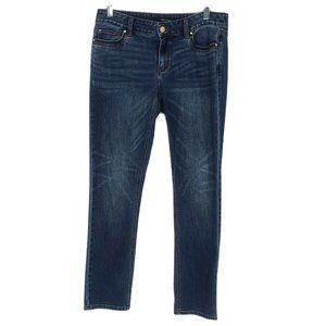 White House Black Market Slim Straight Leg Jeans 4